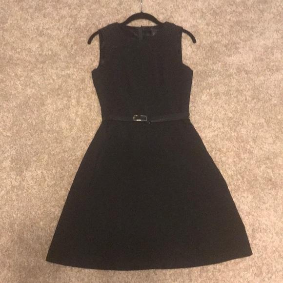White House Black Market Dresses & Skirts - Little Black Dress with belt